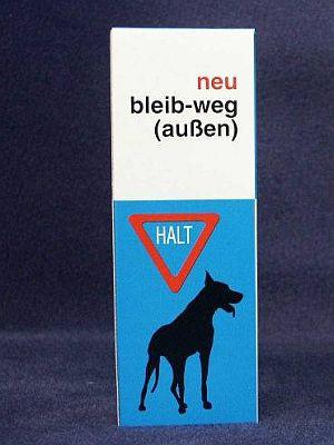 Bleib-weg-Vetyl Neu