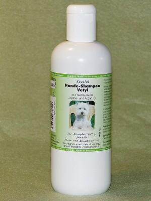 Spezial-Hunde-Shampoo Vetyl mit Teebaumöl 10 kg-Kan.