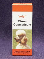 Ohren-Cosmeticum Vetyl sensitiv 50 ml-Pipettenfl.