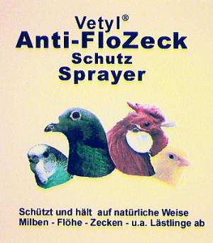 Vetyl Anti-FloZeck Schutz-Sprayer für Vögel 100 ml